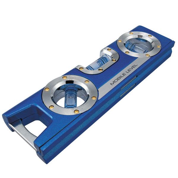 タジマ 水平器 モバイルレベル 160mm ブルー ML-160B (直送品)