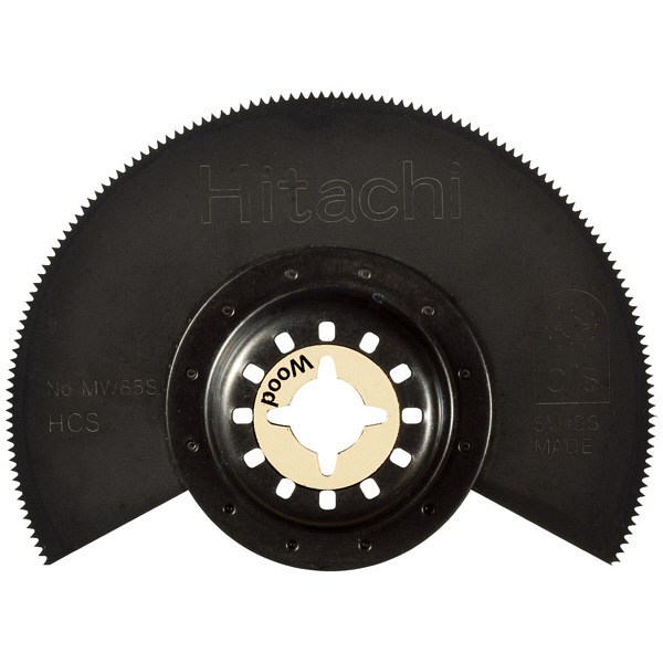 日立工機 マルチツール用ブレード(MW85S)木材きわ切り用 00335818 (直送品)