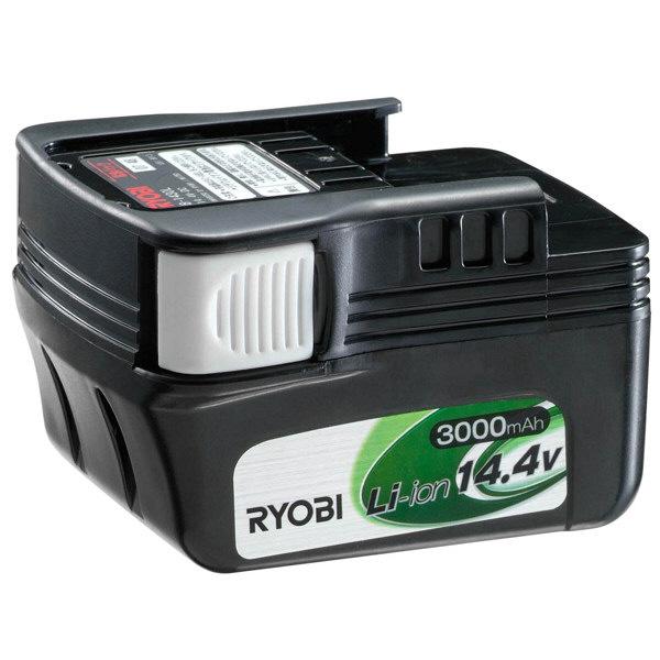 リョービ 14.4Vリチウムイオン電池パック 3000mAh B-1430L (直送品)