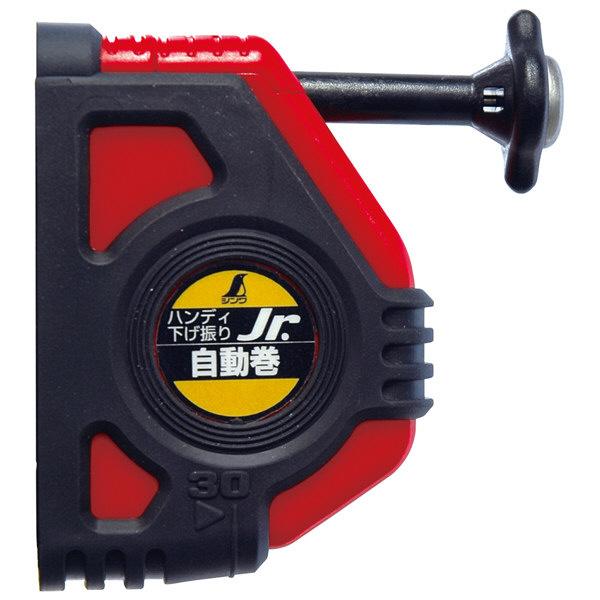 シンワ測定 ハンディ下げ振り Jr. 自動巻 赤 77501 1セット(5個) (直送品)