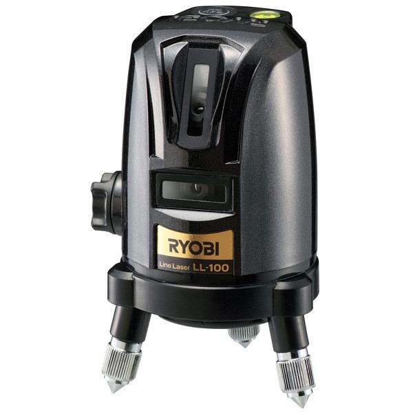 リョービ レーザー墨出器 ジンバル式 屋内外兼用 LL-100 (直送品)