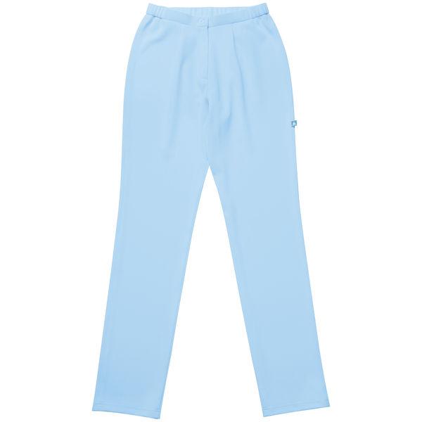 ルコックスポルティフ ナースパンツ レディーススリムストレッチパンツ ブルー LL UQW2034 1枚 (直送品)