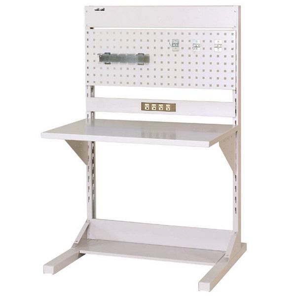 ラインテーブル W900サイズ片面単体 作業台 HRK-0913-PC 山金工業 (直送品)