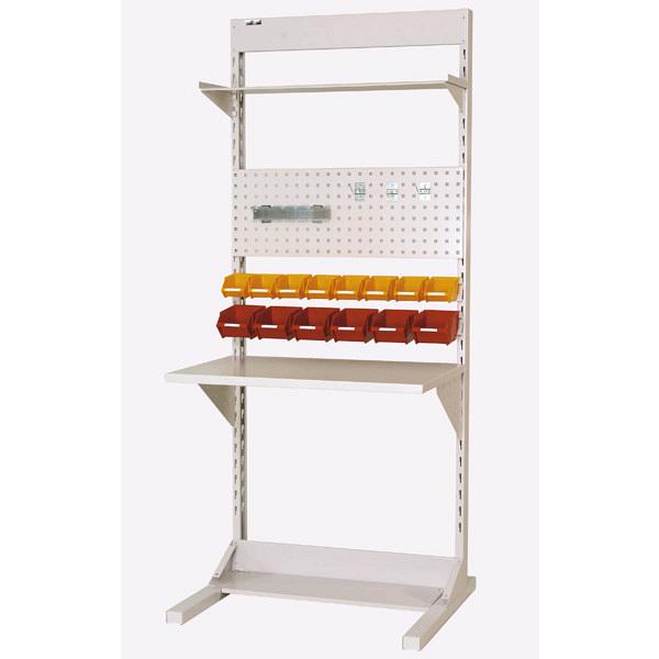 ラインテーブル W900サイズ片面単体 作業台 HRK-0921-TPY 山金工業 (直送品)