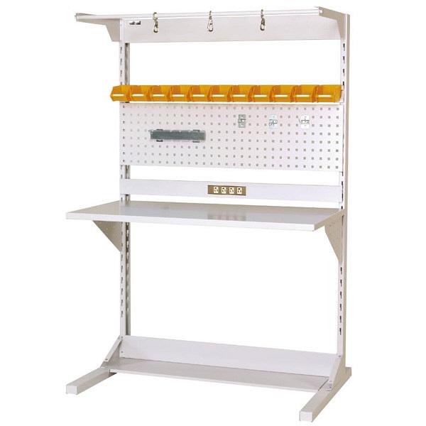 ラインテーブル W1200サイズ片面単体 作業台 HRK-1218-FPYC 山金工業 (直送品)