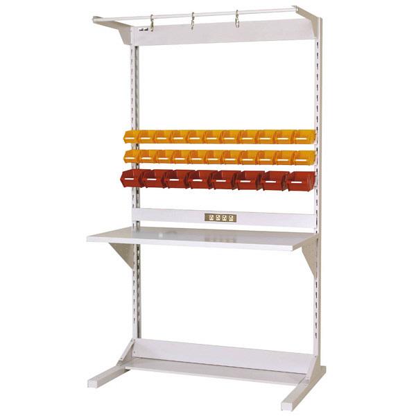 ラインテーブル W1200サイズ片面単体 作業台 HRK-1221-FYC 山金工業 (直送品)