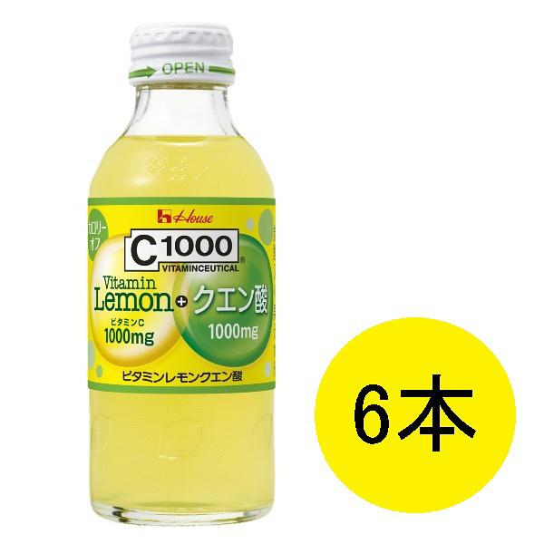 C1000 ビタミンレモンクエン酸 6本