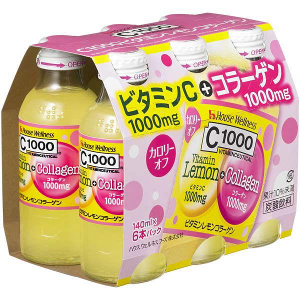 C1000ビタミンレモンコラーゲン 6本