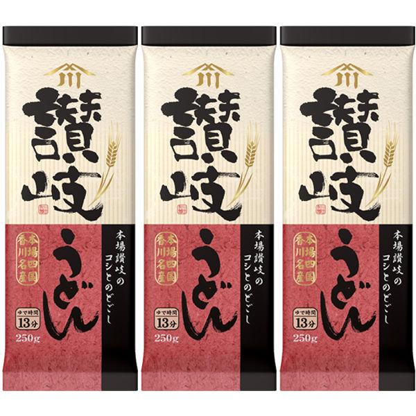 川田製麺 讃岐うどん 3袋