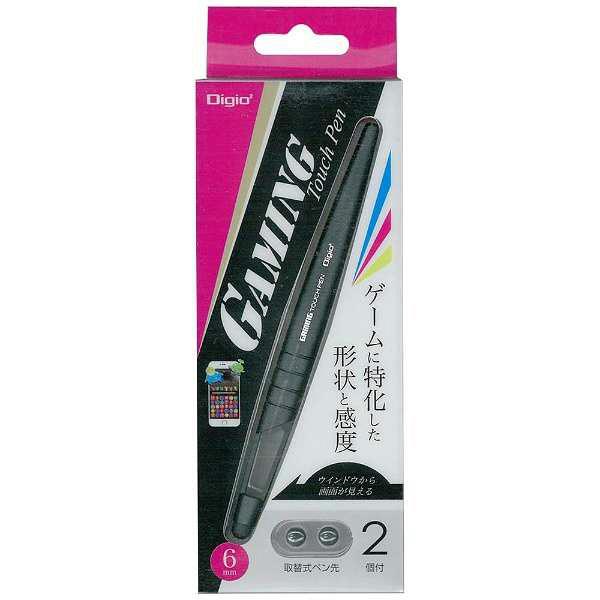 ナカバヤシ ゲーミングタッチペン/ブラック ECTP-12BK (直送品)