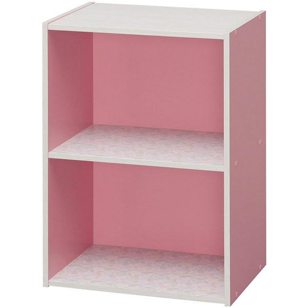 カラーボックスDCX-2 ピンク