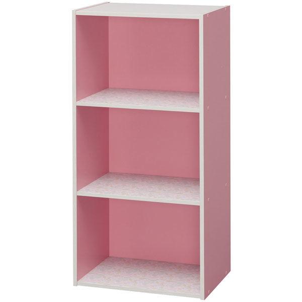 カラーボックスDCX-3 ピンク