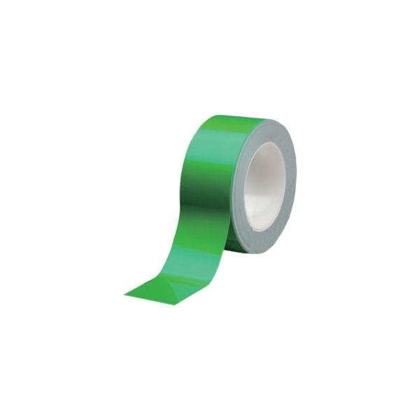 ミドリ安全 ラインテープ ベルデビバハードテープ 緑50MMX20M 4073051350 1巻(20m)(直送品)