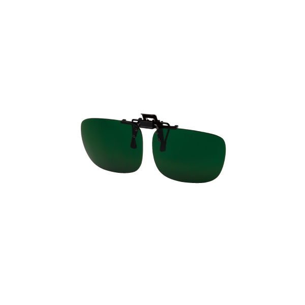 ミドリ安全 二眼型保護 遮光めがね めがね取付型 MS-20しゃ光度6.0 1個 4012063960(直送品)
