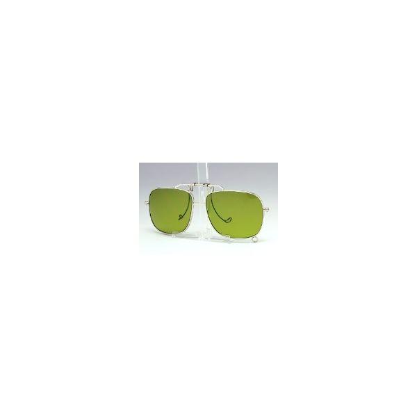 ミドリ安全 二眼型保護 遮光めがね めがね取付型 MS-11しゃ光度5.0 1個 4012064350(直送品)