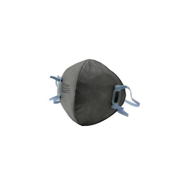 ミドリ安全 使い捨て防塵マスク 活性炭入サイドフック MD09C 1箱(10枚入) 4028058210(直送品)