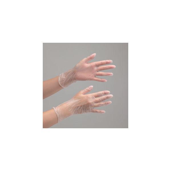 ミドリ安全 PVC手袋 ベルテプラテ 831 粉無し M 100枚入 1箱(100枚) 4049491620(直送品)