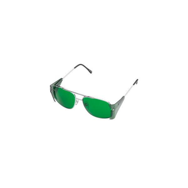 ミドリ安全 二眼型保護 遮光めがね しゃ光度1.7 MS-350A 1個 4012063817(直送品)