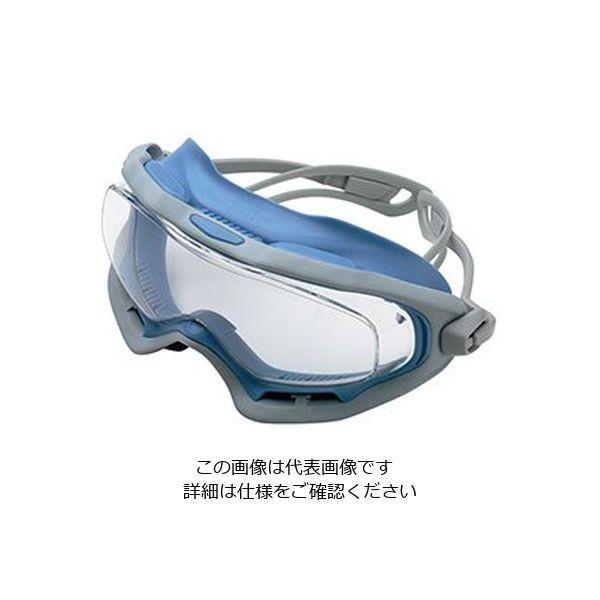 ミドリ安全 曇り止め 一眼型 保護めがね ビジョンベルデ VG-503Fゴーグラス(R) ライトブルー 1個 4012700180(直送品)