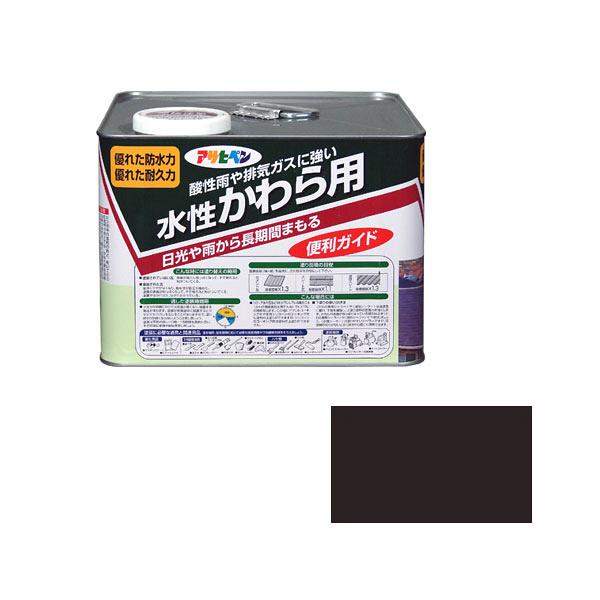 アサヒペン 水性かわら用 7L ココナッツブラウン (直送品)