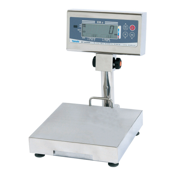 防水型卓上デジタル台はかり DP-6600 15kg 検定品 DP-6600K-15-3 大和製衡 (直送品)