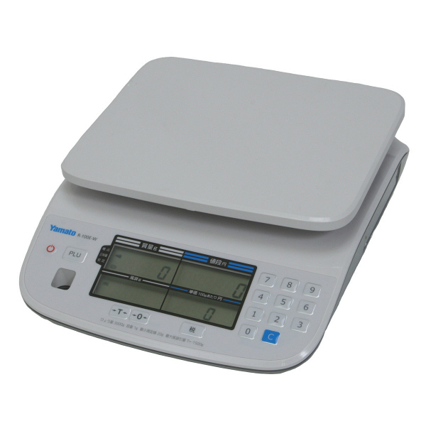 料金はかり PriceNAVI 15kg 検定品 R-100E-W-15-5 大和製衡 (直送品)