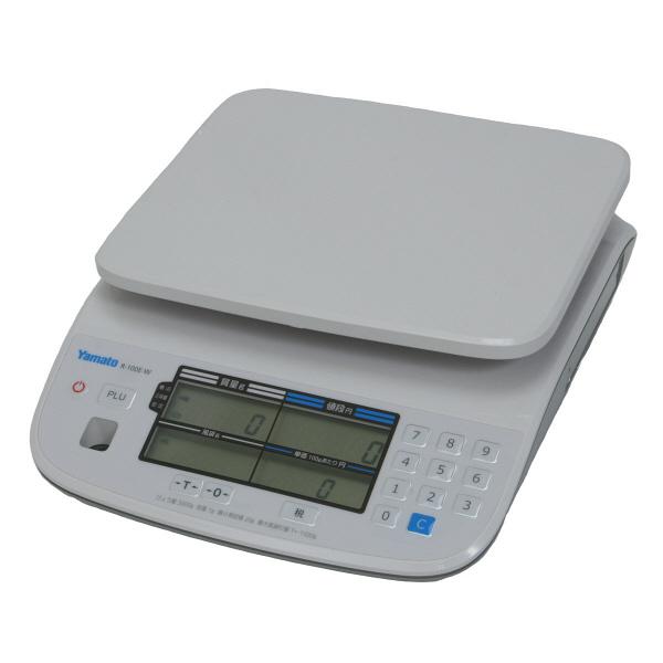 料金はかり PriceNAVI 3kg 検定品 R-100E-W-3-7 大和製衡 (直送品)