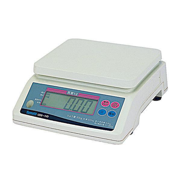 デジタル上皿はかり UDS-1V 30kg 検定品 UDS-1VD-30-6 大和製衡 (直送品)