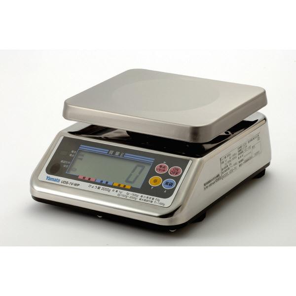 防水型デジタル上皿はかり UDS-1VII-WP 15kg 検定品 UDS-1V2-WP-15-4 大和製衡 (直送品)
