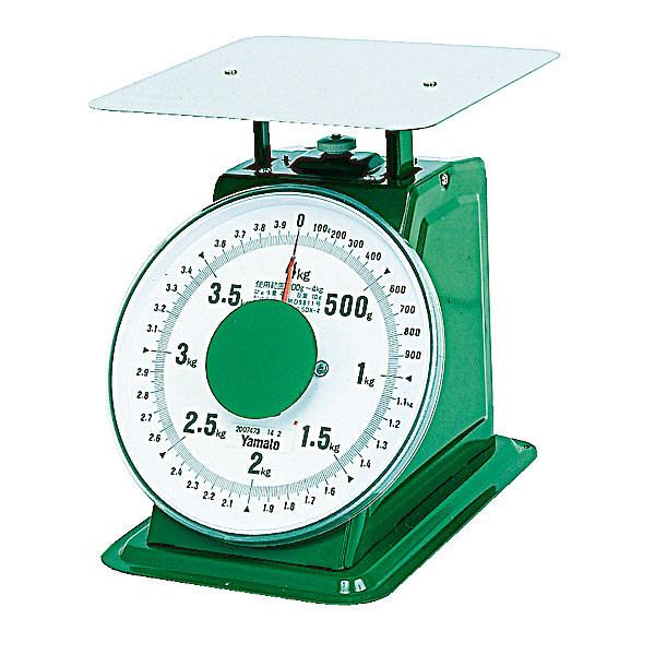 普及方上皿はかり 4kg SDX-4 大和製衡 (直送品)