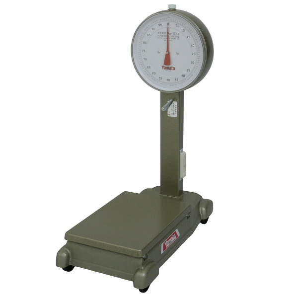 小型自動台はかり 100kg 車輪付 D-100SZ 大和製衡 (直送品)
