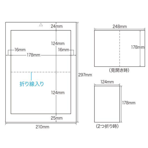 サンワサプライ インクジェットDVDトールケースインデックスカード (直送品)