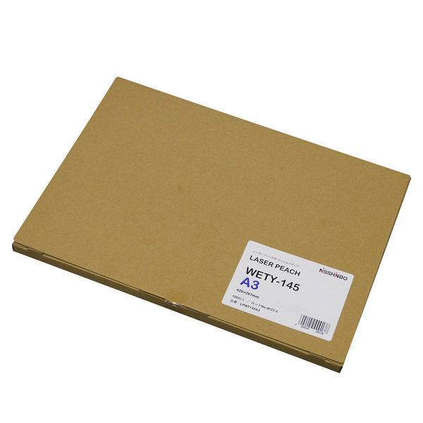 日清紡ペーパープロダクツ レーザーピーチ WETY-145 白PETフィルム(145μm) A3 LPWT145A3 1冊(100枚入) (直送品)