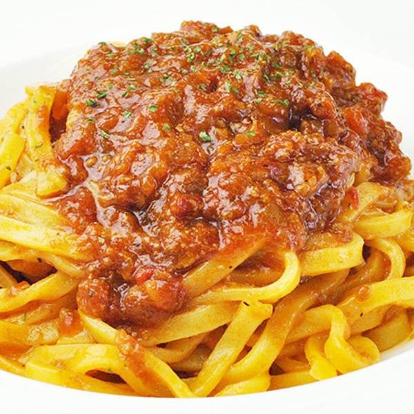 本格生パスタ トマトのボロネーゼ