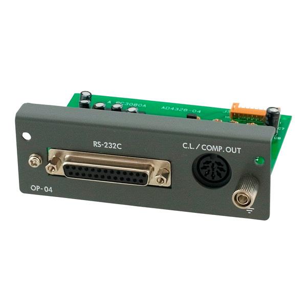 AD-4328用RS-232C入出力+カレントループ+リレー出力 AD4328-04 エー・アンド・デイ (直送品)