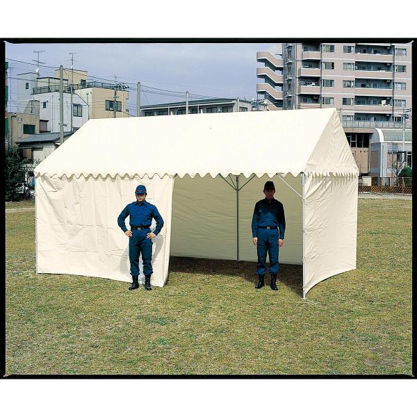 OK式テント 1.5×2時間型 屋根幕付+四方幕付 6254 東京都葛飾福祉工場 (直送品)