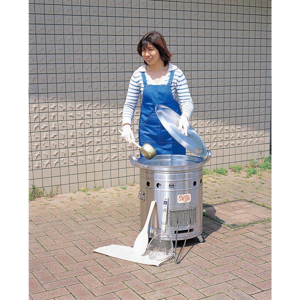 〈まかないくん30型〉基本セット 4260 東京都葛飾福祉工場 (直送品)