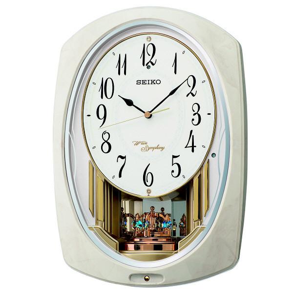 SEIKO(セイコークロック) 電波アミューズ時計 [電波 掛け時計] AM261A 1個 (直送品)