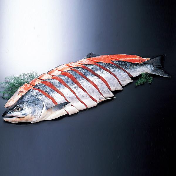 北海道銀毛 新巻鮭 姿切身