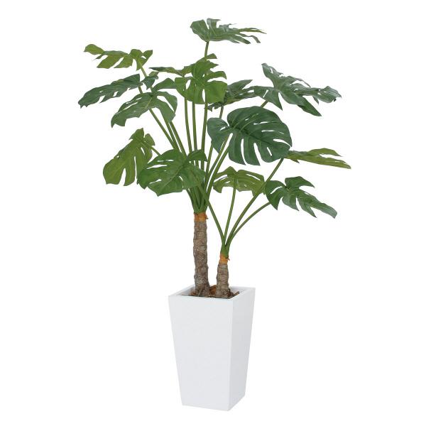 タカショー 人工観葉植物 モンステラ  2本立 1.4m