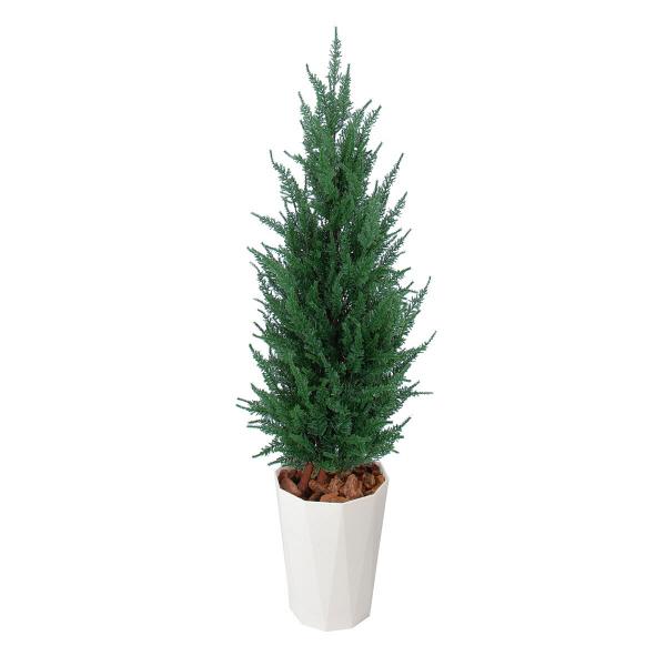 タカショー 人工観葉植物 ゴールドクレスト グリーン  1.2m