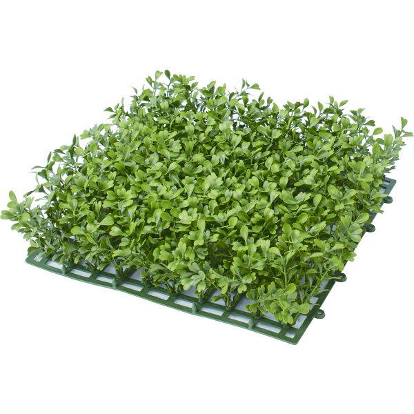 タカショー 人工観葉植物 ボックスウッドマット26×26cm 1セット(6枚入)