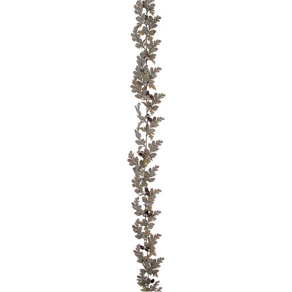 タカショー 人工観葉植物  ガーランド ホワイトオーク 180cm 1セット(6本入)