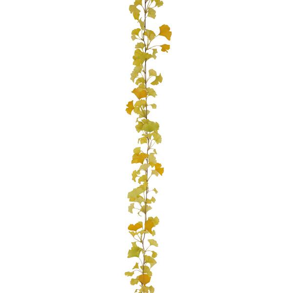 タカショー 人工観葉植物  ガーランド イチョウ 180cm 1セット(6本入)