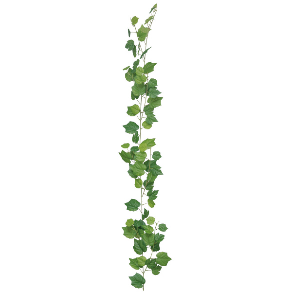 タカショー 人工観葉植物 ガーランド  グレープアイビー ワイヤー入 160cm 1セット(6本入)