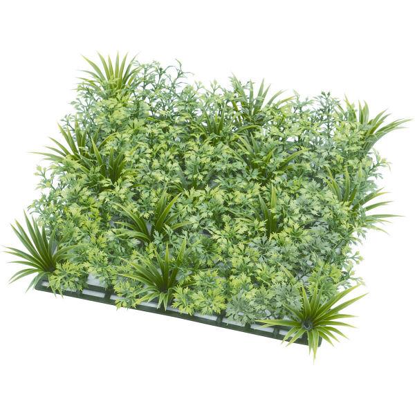 タカショー 人工観葉植物 ミックスマット メイプル 27×27cm 1セット(6枚入)