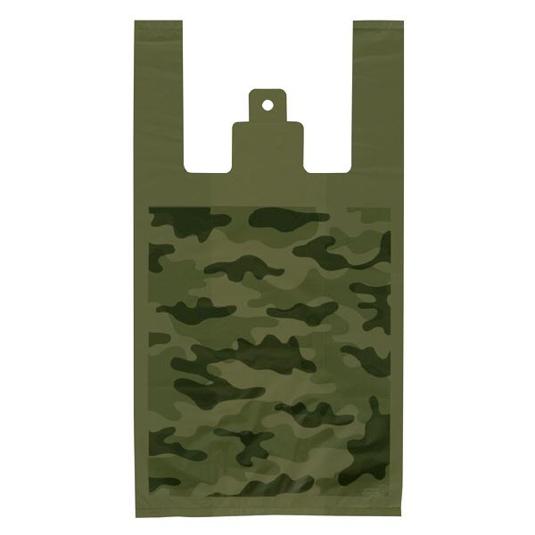 ヘッズ レジ袋 カモフラージュレジバッグ Mサイズ CMO-M-K 1箱(100枚入×40袋) (直送品)