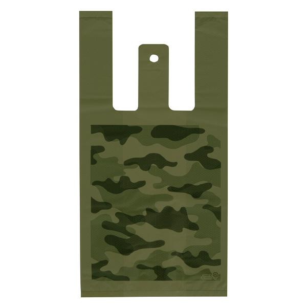 ヘッズ レジ袋 カモフラージュレジバッグ Sサイズ CMO-S-K 1箱(100枚入×60袋) (直送品)