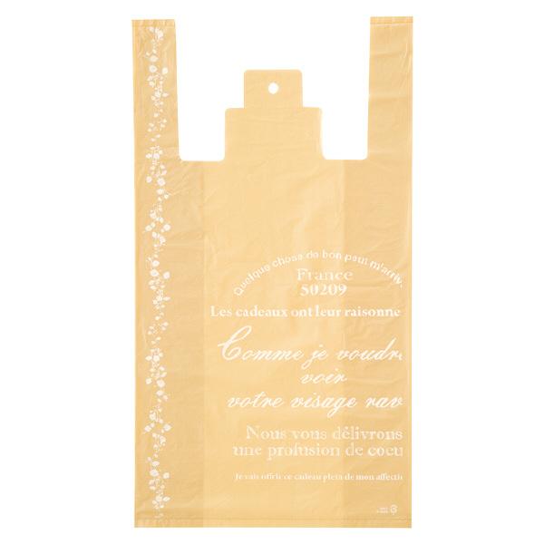 ヘッズ レジ袋 ナチュラルバインレジバッグ Lサイズ NAV-L-K 1箱(100枚入×20袋) (直送品)
