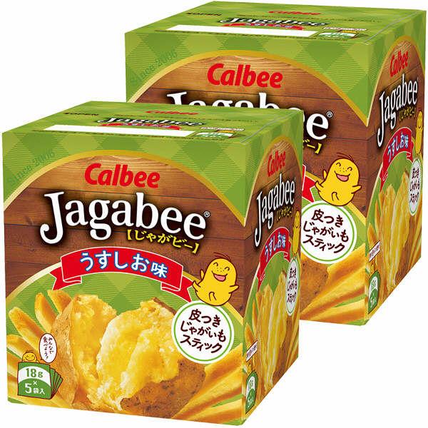 ジャガビー うす塩 2箱